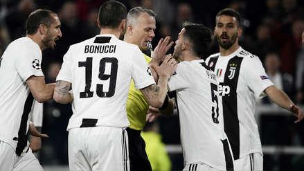 Y sin VAR: El gol anulado de Juventus por una falta de Cristiano Ronaldo contra Jan Oblak