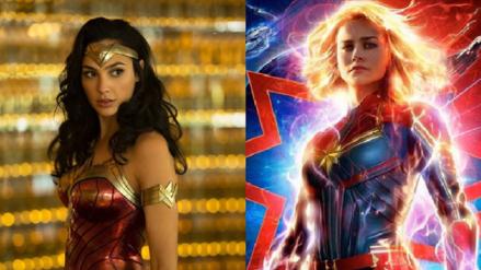 """""""Mujer Maravilla"""" felicita a Brie Larson por el éxito de"""
