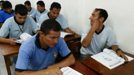 Reclusos de Chiclayo | Perdieron la libertad, pero no sus ganas de seguir educándose
