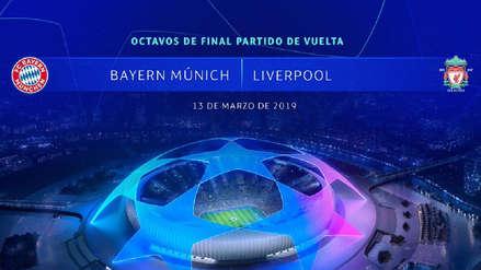 Resultados Bayern Munich vs. Liverpool, en directo por Champions League 2018-19