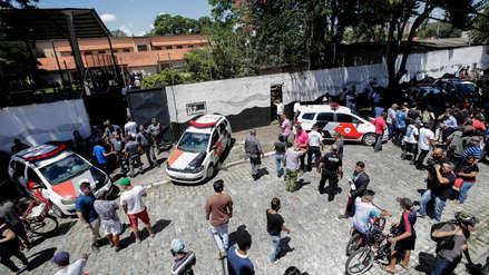 Adolescentes abrieron fuego en colegio de Sao Paulo: el tiroteo dejó diez muertos