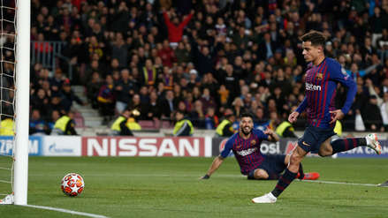 La gran jugada colectiva del Barcelona que Philippe Coutinho convirtió en gol