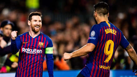 Barcelona goleó al Lyon y avanzó a los cuartos de final de la Champions League