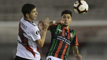 ¡Atención Alianza Lima! River Plate igualó 0-0 con Palestino por el grupo A de la Copa Libertadores