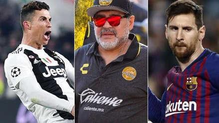 Cristiano Ronaldo o Lionel Messi: Diego Maradona respondió quién es el mejor futbolista del momento