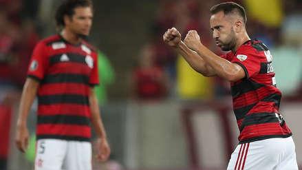 Flamengo ganó 3-1 a Liga de Quito por el grupo D de la Copa Libertadores 2019