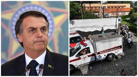 Jair Bolsonaro calificó tiroteo en colegio de Brasil como