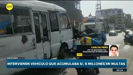 Fiscalizadores de Miraflores intervinieron 'cúster pirata' con S/5 millones en papeletas