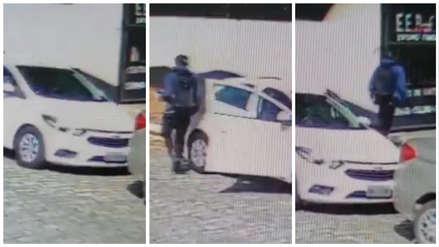 El momento en que dos adolescentes llegan a colegio de Sao Paulo y desatan tiroteo [VIDEO]