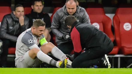 El pisotón de James Rodríguez que sacó a Jordan Henderson del partido por Champions League