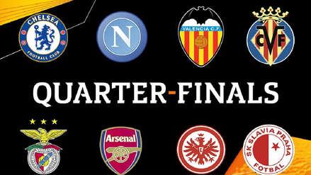 Europa League: estos son los emparejamientos de los cuartos de final de la competencia europea