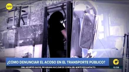 ¿Cómo denunciar el acoso en el transporte público?