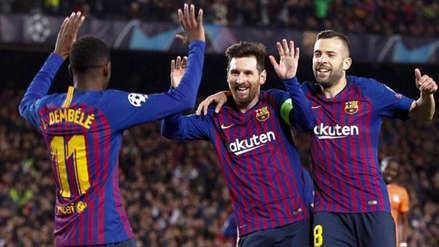 Barcelona: crack se lesionó y se podría perder partido por los cuartos de final de la Champions League