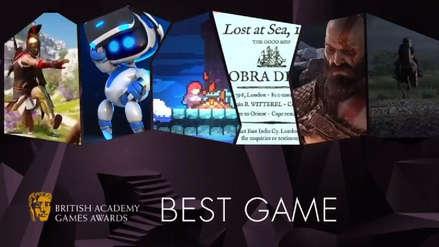 BAFTA 2019: God of War arrasa en las nominaciones de los premios de la Academia Británica