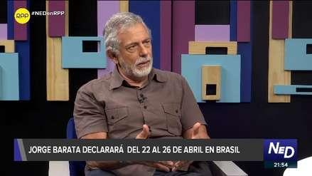 Gorriti: Barata tuvo relación de negocios con Toledo y Humala,