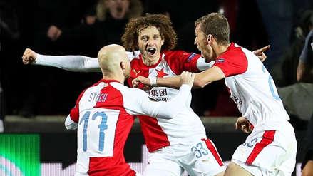 Slavia Praga logró la hazaña: venció 4-3 a Sevilla y clasificó a los cuartos de final de la Europa League