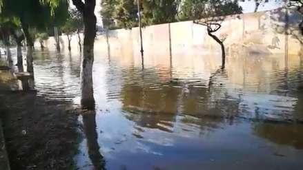Calles de Trujillo se inundaron tras cinco horas de lluvia