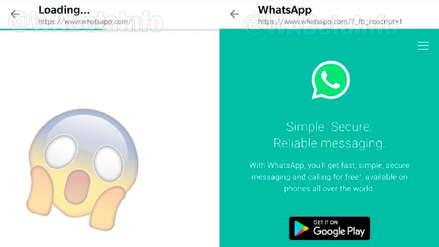 WhatsApp está probando su propio navegador en Android