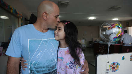 Niña afectada por ameba 'comecerebros' en Chorrillos se recupera y es dada de alta