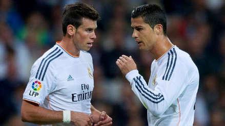 Agente de Gareth Bale considera que el galés puede estar en el mismo nivel que Cristiano Ronaldo