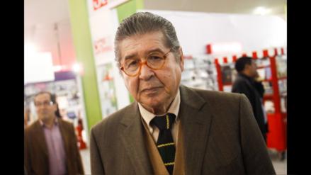 Alfredo Bryce Echenique será invitado en la Feria del Libro de Buenos Aires