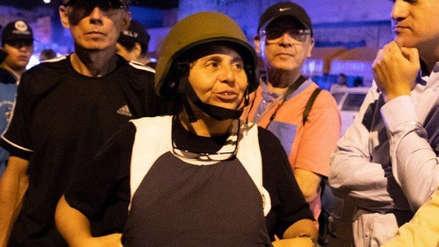 Susel Paredes recibió amenazas de muerte durante la reapertura de Gamarra