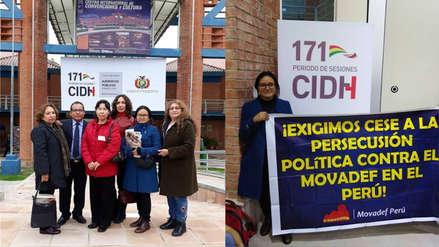 Organizaciones vinculadas a Sendero Luminoso se presentaron en sesión de la CIDH en Bolivia