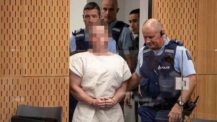 Terrorista acusado por tiroteo en Nueva Zelanda fue presentado ante tribunal