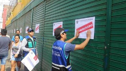 Municipalidad de Lima clausuró galería Nicolini del Cercado de Lima
