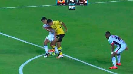 El pase gol de Edison Flores para que Morelia ponga el empate ante Lobos BUAP