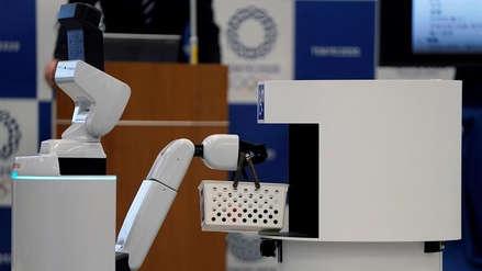 Tokio 2020 | Japón presentó dos robots 'asistentes' para los Juegos Olímpicos