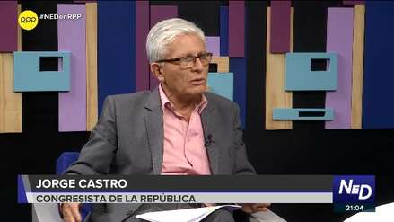 Jorge Castro evalúa denunciar a Mercedes Aráoz ante Ética por incidente en el Pleno