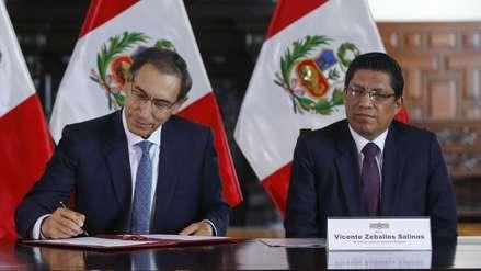 Ministro dice que crítica de Vizcarra a monto de acuerdo con Odebrecht
