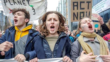 Millones de jóvenes y escolares marchan en todo el mundo contra el calentamiento global [FOTOS]