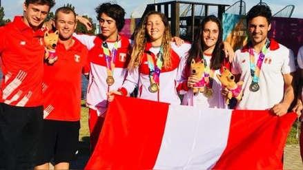 Perú sumó cuatro medallas de oro en los Juegos Sudamericanos de Playa