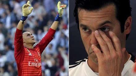 Real Madrid: Keylor Navas y el 'dardo' contra Santiago Solari tras volver al titularato