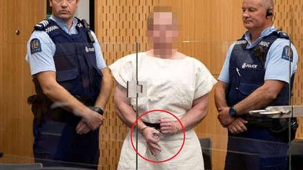 El mensaje detrás del gesto hecho por el autor de la masacre en Nueva Zelanda ante el tribunal