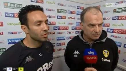 El momento de tensión entre Marcelo Bielsa y un periodista tras la última derrota del Leeds United