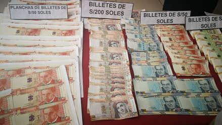 Incautan 160 mil soles en billetes falsos que eran trasladados desde Trujillo a la selva