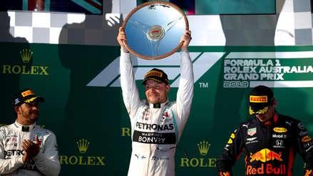 ¡Sorpresa en el inicio de la F1!: Valtteri Bottas ganó en Australia por delante de Hamilton y Verstappen