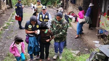Policía rescató a hermanos amarrados con sogas y abandonados en una casa de Quillabamba