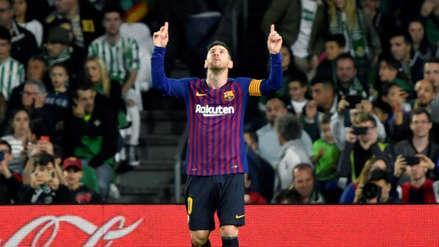 ¡Se rinden ante Lionel Messi! Hinchas del Betis aplaudieron de pie al delantero del Barcelona tras su 'hat trick'