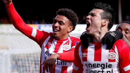 El gol de Hirving Lozano que le dio el triunfo al PSV y del que todo el mundo en Holanda está hablando
