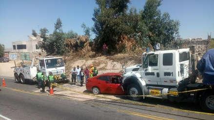 Arequipa | Madre y su hija de un año mueren en accidente de tránsito en Uchumayo [Video]