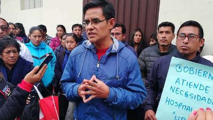 Hospital de Huamachuco suspende atención debido a afectación por lluvias