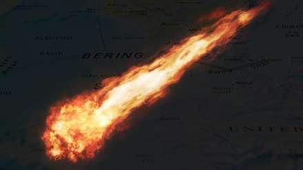 Un meteoro explotó sobre el mar con la potencia de 10 bombas nucleares y no nos dimos cuenta