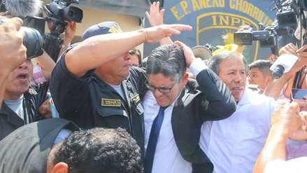 Fiscal Domingo Pérez denunció en comisaría agresión que sufrió por simpatizantes de Fuerza Popular