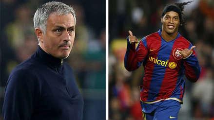José Mourinho y el día que calificó a Ronaldinho de 'tramposo' en un informe