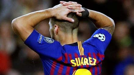 Luis Suárez se lesionó y se perderá los amistosos de la Selección de Uruguay