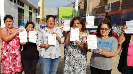 San Juan de Lurigancho: Vecinos denuncian que Sedapal les está cobrando mes en el que ocurrió aniego